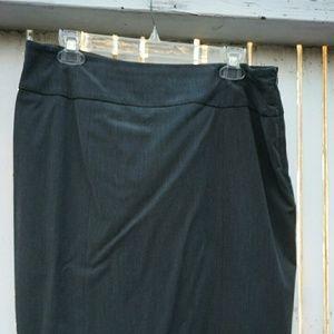 Jones New York Gray Suit Skirt 12